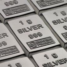 Silver Combibar 1 Gram Bar